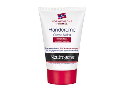 Neutrogena Hand Cream, Unscented, 2 oz