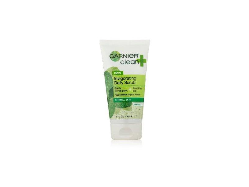 Garnier Clean Invigorating Daily Scrub for Normal Skin, 6.8 fl oz