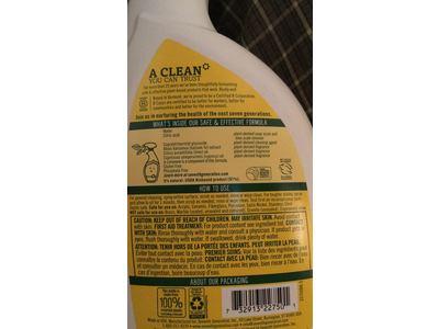 Seventh Generation Tub & Tile Natural Cleaner, Emerald Cypress & Fir, 32 fl oz (Pack of 8) - Image 4