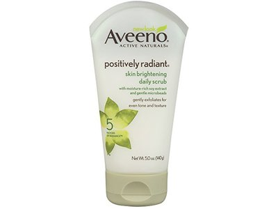 Aveeno Positively Radiant Skin Brightening Daily Scrub, 5 Ounce - Image 1