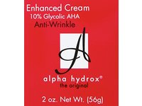 Alpha Hydrox AHA Enhanced Creme, Anti-Wrinkle Exfoliant - 2 oz - Image 4