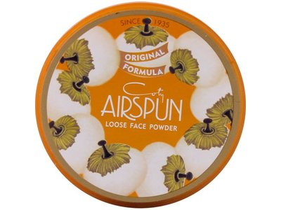 Coty Airspun Loose Powder, Translucent Extra Coverage, 070-41, 2.3 Ounce (6 Pack)