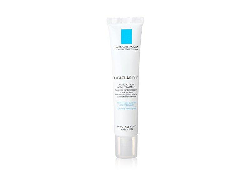La Roche-Posay Effaclar Duo Dual Action Acne Treatment, 1.35 Fluid Ounce