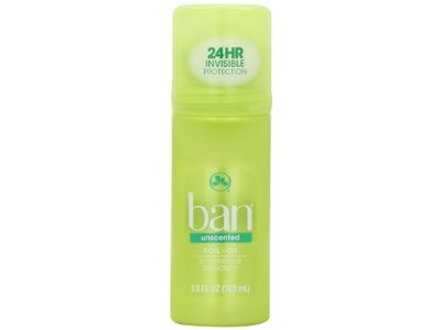 Ban Roll-on Antiperspirant Deodorant Unscented