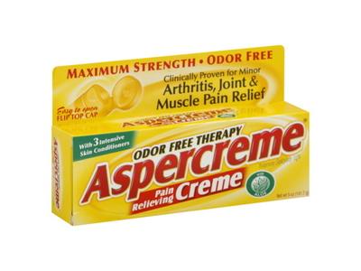 Aspercreme Creme, Chattem