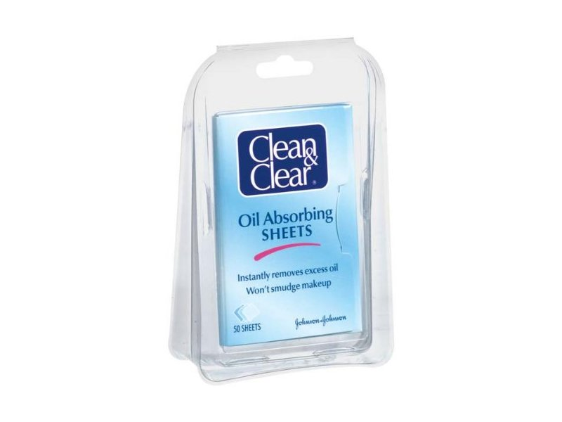 Clean & Clear Oil Absorbing Sheets, Johnson & Johnson