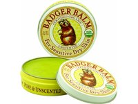 Badger Balm Unscented for Sensitive Dry Skin Balm, 2 oz - Image 3