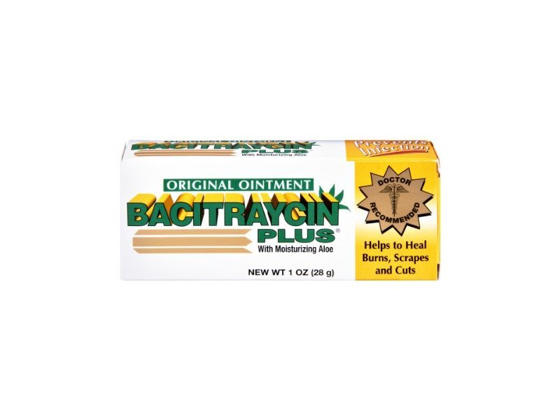 Bacitraycin Plus with Moisturizing Aloe Original Ointment, 1 OZ (Pack of 6)