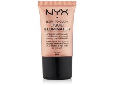 NYX Cosmetics Born to Glow Liquid Illuminator, Gleam, 0.6 Fl Oz