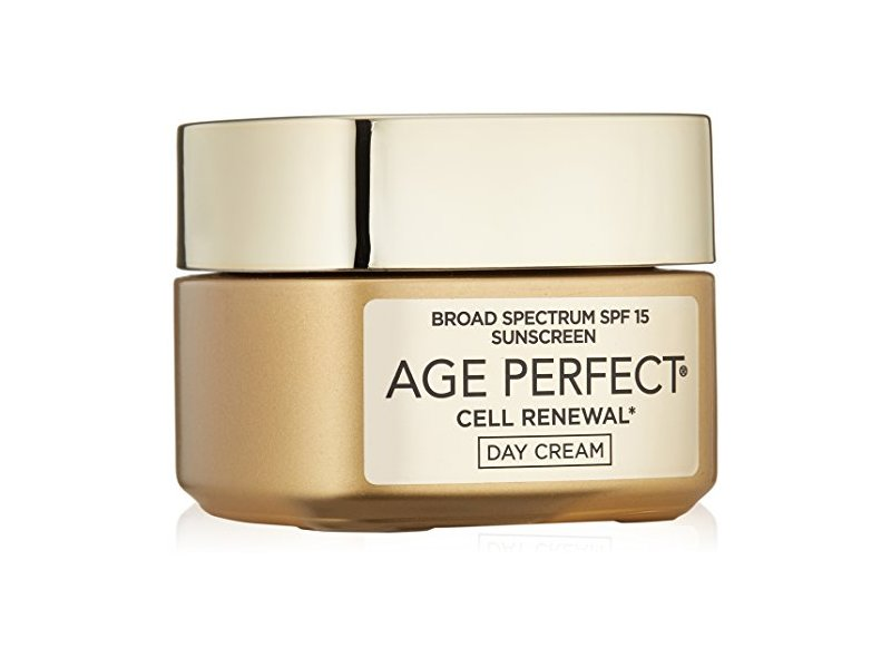 L'Oreal Paris Age Perfect Cell Renewal Day Cream, SPF 15, 1.7 Ounce