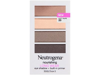 Neutrogena Nourishing Long Wear Eye Shadow + Built-in Primer, Soft Taupe, 0.24 Ounce - Image 3