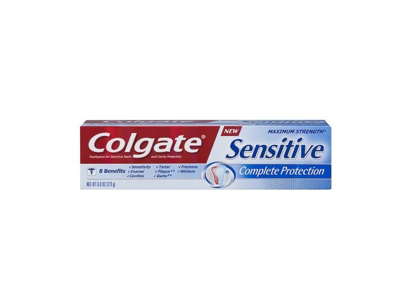 Colgate Sensitive Complete Protection Toothpaste, 6 Ounce