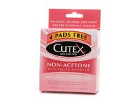Cutex Nail Polish Remover, Non Acetone Pads, 10 Count - Image 2