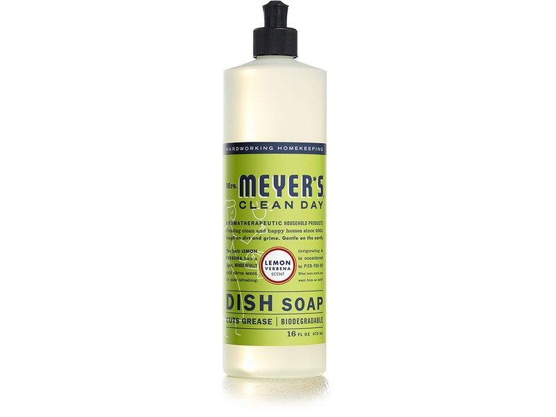 Mrs. Meyer's Clean Day Dish Soap, Lemon Verbena, 16 fl. oz.