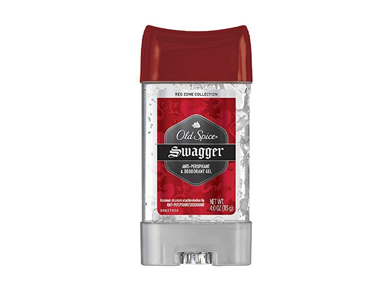 Old Spice Red Zone Collection Swagger Scent Men's Anti-Perspirant & Deodorant Clear Gel 3.8 Oz