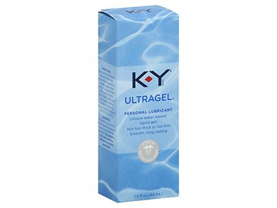 K-Y UltraGel Personal Water Based Lubricant, 1.5 Ounce (Pack of 2)
