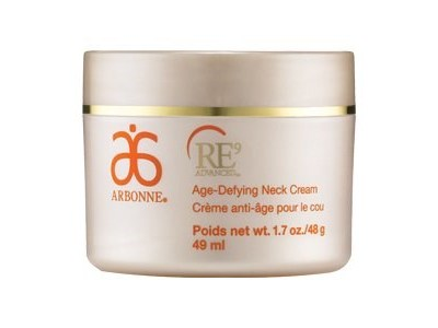 Arbonne RE9 Advanced Age-Defying Neck Cream, 1.7 oz.
