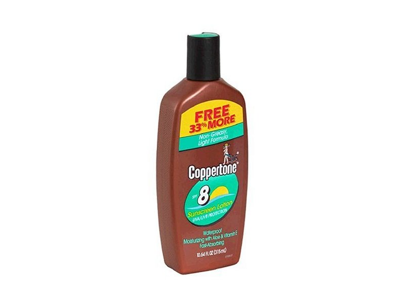 Coppertone Sunscreen Lotion, SPF 4
