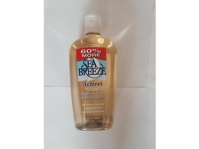Sea Breeze Actives Deep Clean Astringent 16 Fl.oz (2 Bottles) - Image 1