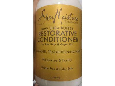 SheaMoisture Raw Shea Butter Restorative Conditioner, 379 ml - Image 3