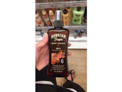 Hawaiian Tropic Dark Tanning Oil, SPF6, 8 fl oz - Image 3