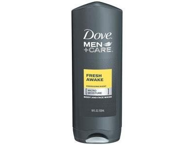 Dove Men+Care Body & Face Wash, Fresh Awake - Image 1