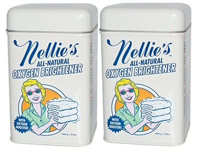 Nellie's All-Natural Oxygen Brightener Tin, 2 Pack