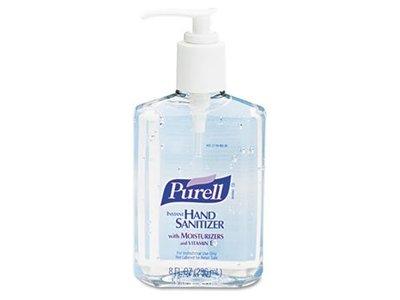 Purell Instant Hand Sanitizer, 8oz, Pump Bottle