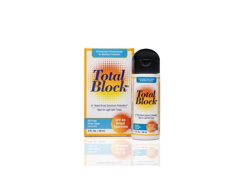 Total Block Clear SPF 65, Fallene, Ltd