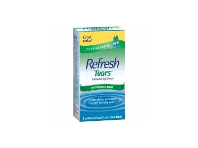 Refresh Tears, Lubricant Eye Drops, .5 fl oz