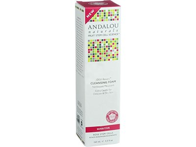 Andalou Naturals Cleansing Foam, Extra Gentle, 5.5 fl oz