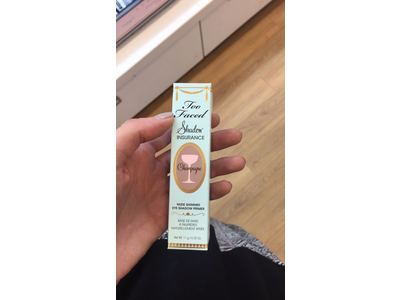 Too Faced Shadow Insurance Champagne Nude Shimmer Eye Shadow Primer for Women, 0.35 Ounce - Image 3
