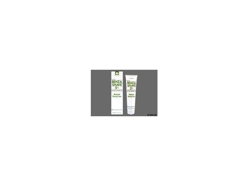 Benzashave 5% (RX), Sandoz