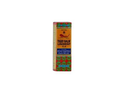 Tiger Balm Liniment - Provides Penetrating Pain Relief (Non-staining) - 2 Fl. Oz. (57 Ml)