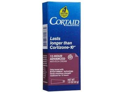 Cortaid Advanced 12-hour Anti-Itch Cream, 1.5 oz