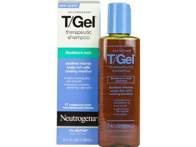 Neutrogena T/gel Therapeutic Shampoo - Stubborn Itch, Johnson & Johnson - Image 1
