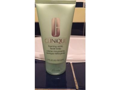 Clinique Foaming Sonic Facial Soap, 5 fl oz - Image 3