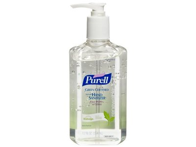 Purell Advanced Hand Sanitizer Gel, 12 oz Pump Bottle, Clear (GREEN CERTIFIED) - Image 3
