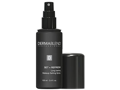 Dermablend Set + Refresh Long-Lasting Makeup Setting Spray, 3.4 Fluid Ounce