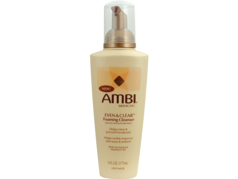 Ambi Even & Clear Foaming Cleanser, johnson & johnson