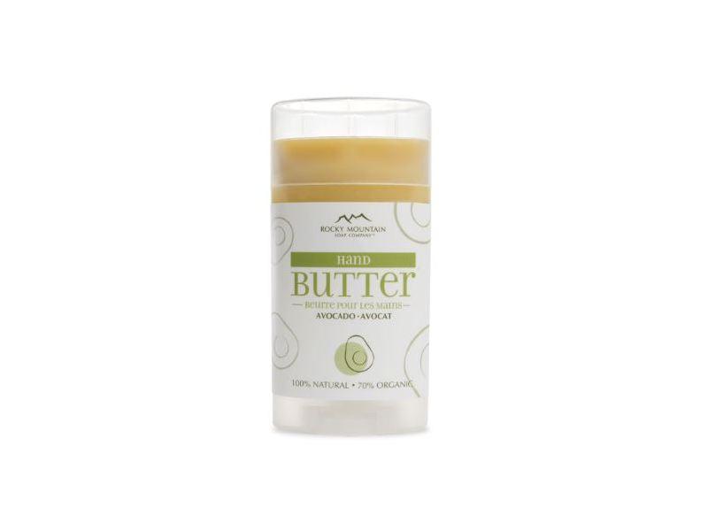 Rocky Mountain Soap Company Hand Butter, Avocado 55 g
