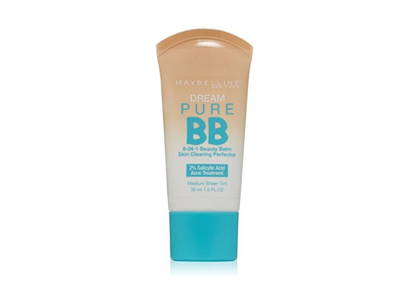 Maybelline New York Dream Pure BB Cream Skin Clearing Perfector, Medium, 1 Fluid Ounce