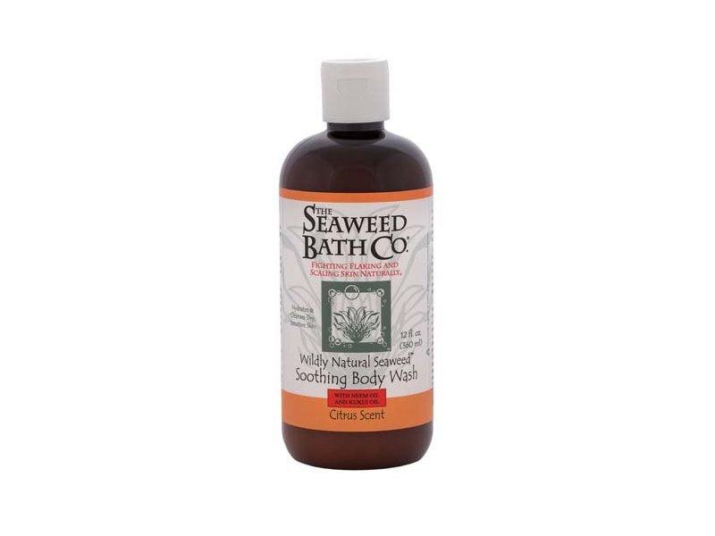 Seaweed Bath Co Wildly Natural Seaweed Body Wash, Citrus, 12.0 fl oz