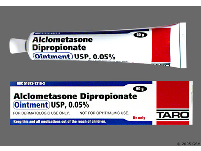 Alclometasone Dipropionate 0.05% Topical Ointment (RX) 60 Grams, Taro Pharmaceuticals - Image 1