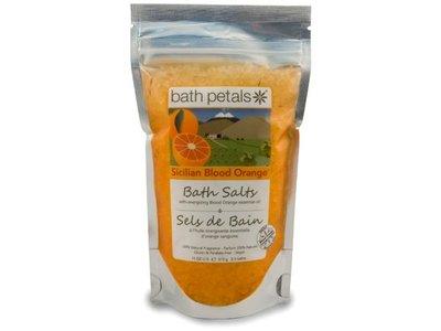 Bath Petals Bath Salts, Sicilian Blood Orange, 11 Ounce