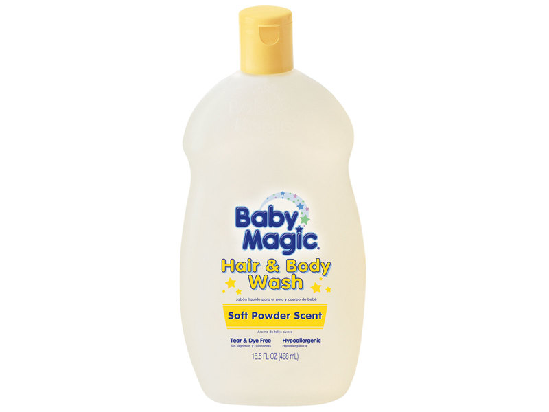 Baby Magic Hair & Body Wash - Soft Powder Scent, Naterra International, Inc.