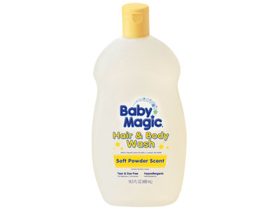 Baby Magic Hair & Body Wash - Soft Powder Scent, Naterra International, Inc. - Image 1