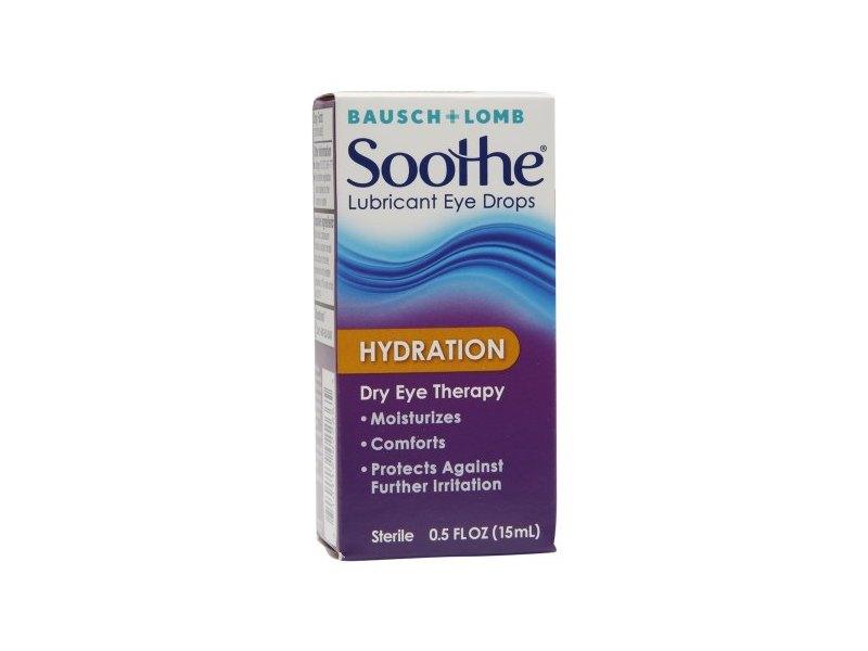 Bausch & Lomb Soothe Hydration Lubricant Eye Drops, 0.5 fl oz