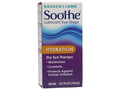 Bausch & Lomb Soothe Hydration Lubricant Eye Drops, 0.5 fl oz - Image 1