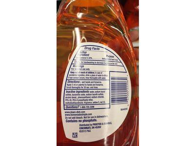 Dawn Ultra Antibacterial Hand Soap/Dishwashing Liquid, Orange Scent, 24 fl oz - Image 8